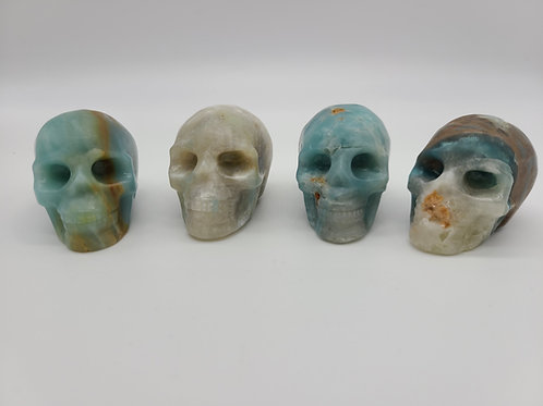 Amazonite Mini Skull