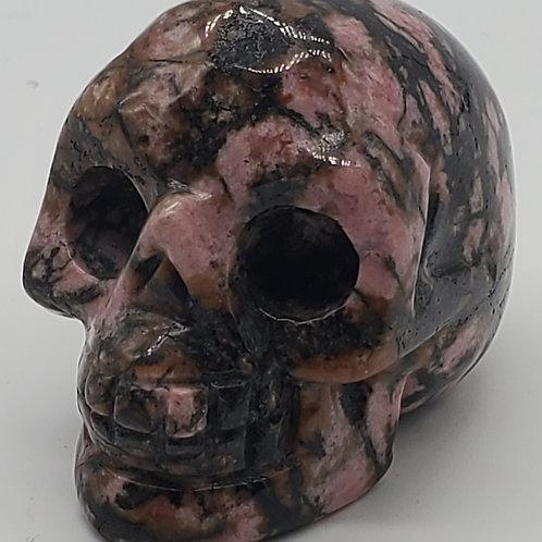 Rhodonite Mini Skull
