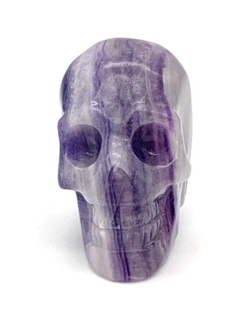 Fluorite Mini Skull