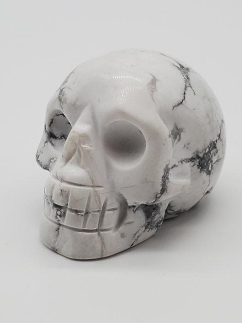 Mini Howlite Skull