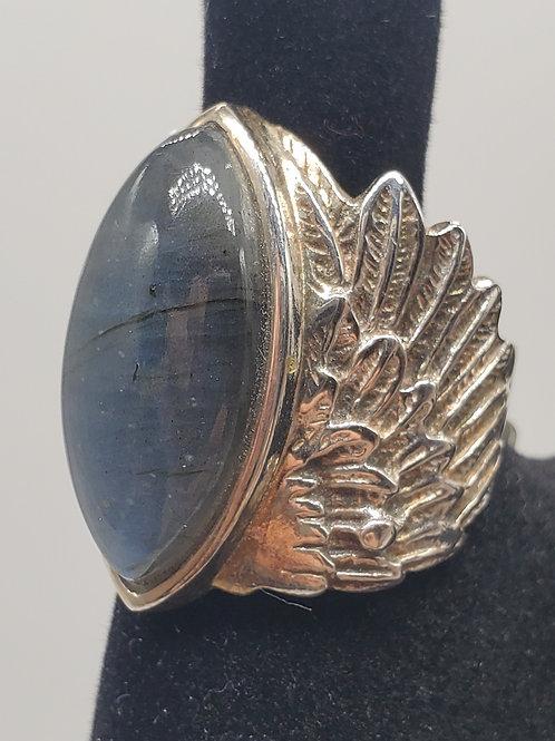 Wings Labradorite Ring