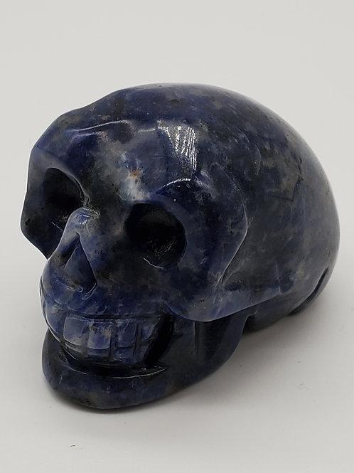 Sodalite Mini Skull