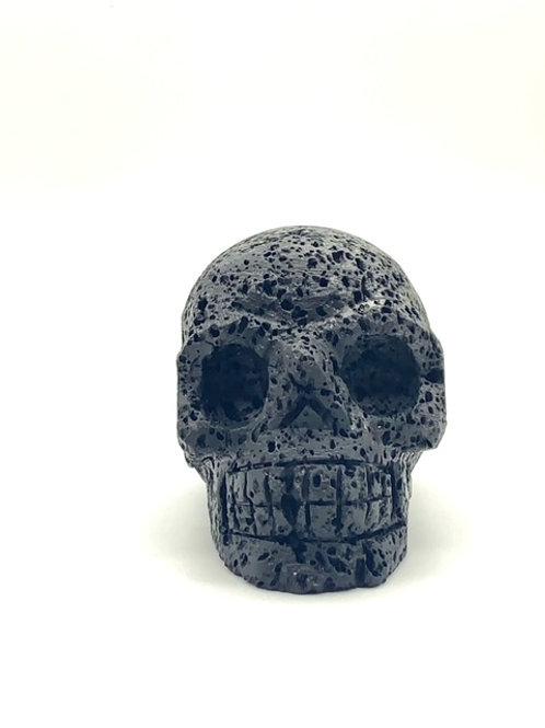 Lava Stone Mini Skull