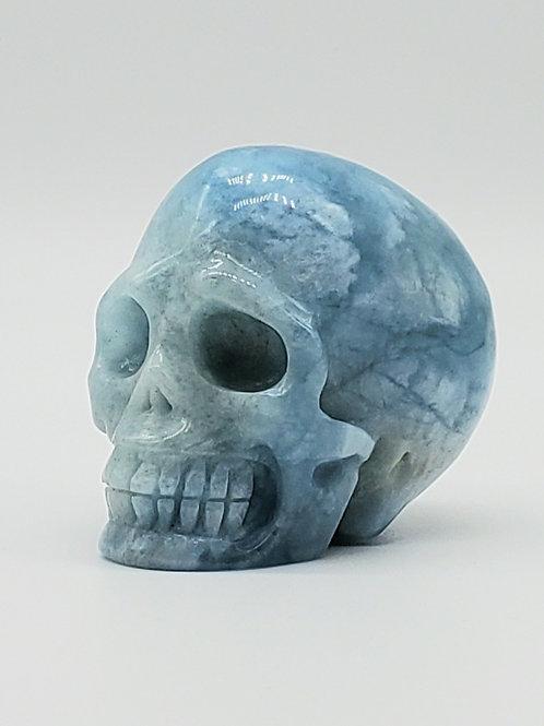 Aquamarine Mini Skull