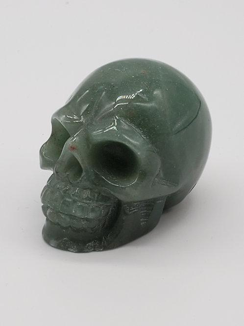 Mini Aventurine Skull