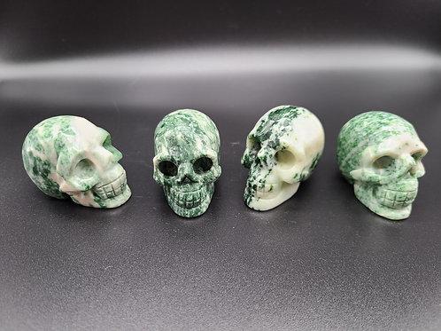 Qinghai Jade Mini Skull