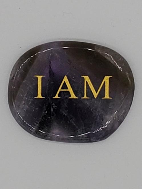 Amethyst Palm Stone (I Am)