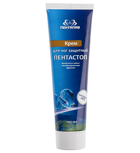 Protective cream for legs against sweat and odor