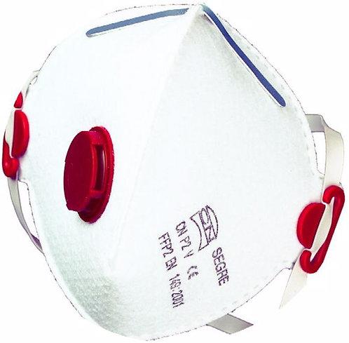 GVS Segre складная многоразовая полумаска с клапаном выдоха