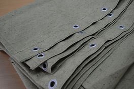fireproof tarpaulin cover
