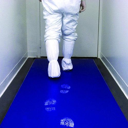 Медицинский коврик с антибактериальный покрытием и адгезивным слоем