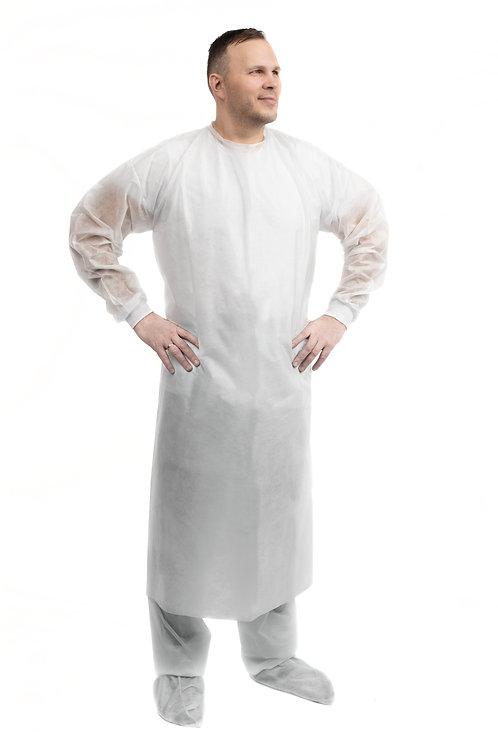 Халат защитный с запахом