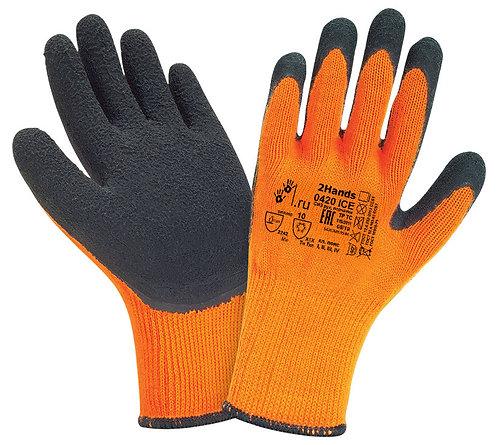 Зимние перчатки обливные