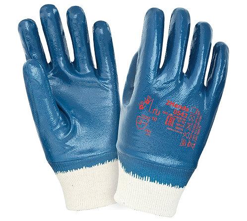 Перчатки нитриловые с тяжелым покрытием