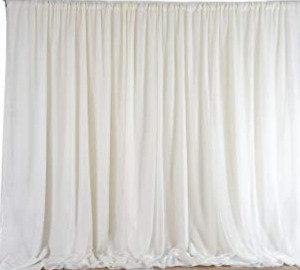 Chiffon Backdrop- Ivory