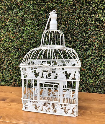 Rectangle Hanging Bird Cage