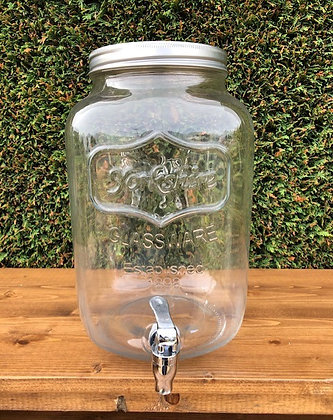 Large Mason Jar Juice Dispensers