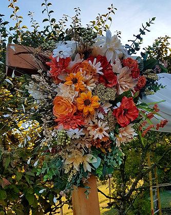 Flower Bouquet- Fall Colours