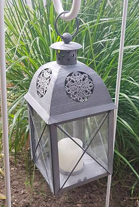 Hanging Grey Lanterns