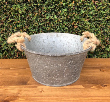 Small Galvanized Tubs