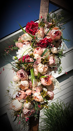 Pink Peony Arch Bouquet