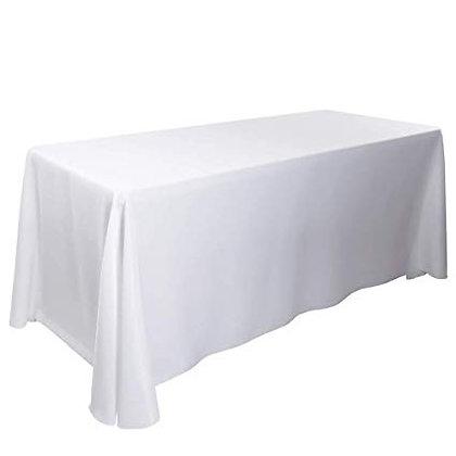 "90""x156"" Banquet Tablecloths- White"