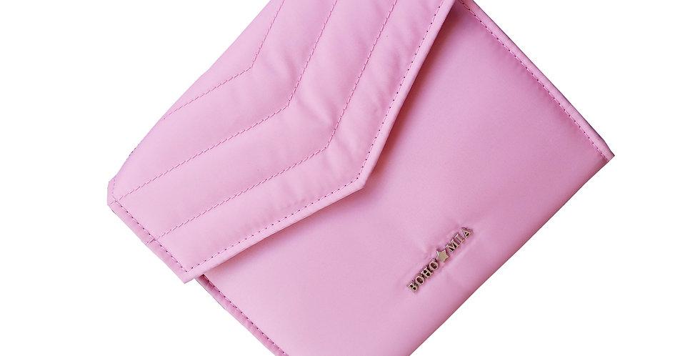 Jewellery Folder - Travel Jewellery Organizer (Pink)