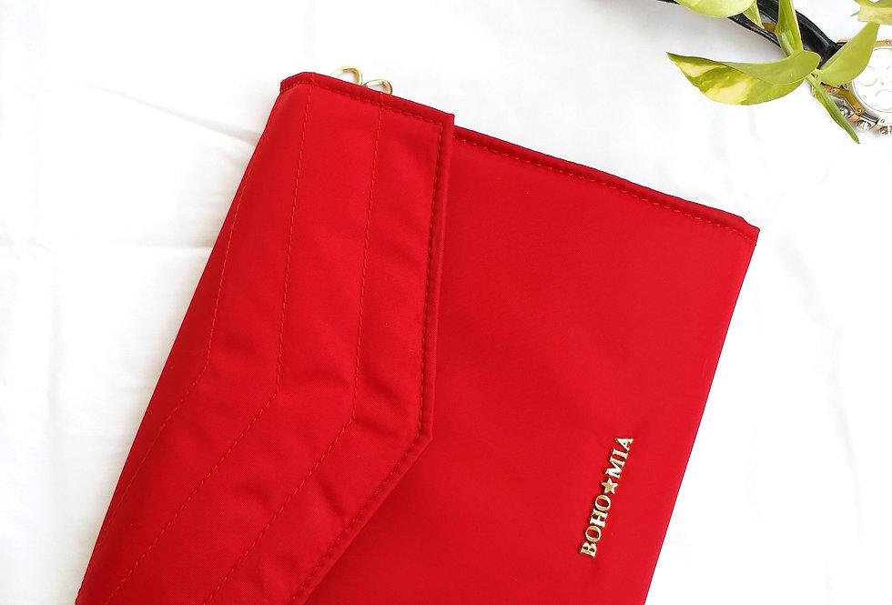 Jewellery Folder -Jewellery Organizer From Bohomia -Red