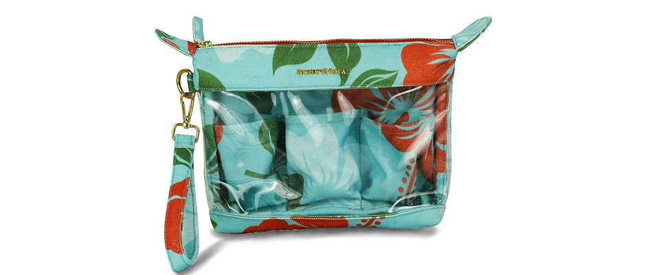 Find Easy Travel Pouch Flower Print