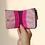 Thumbnail: Bohomia Pocket Wallet (Wine & Light Pink)