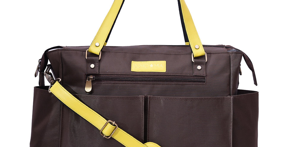 Bohomia Classic In Brown And Yellow