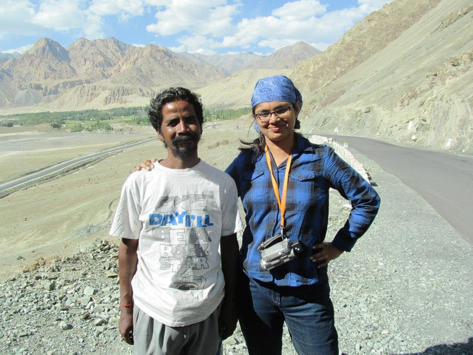 Essentially Bohomia : Indrani - Ladakh Chale Ricksawwala