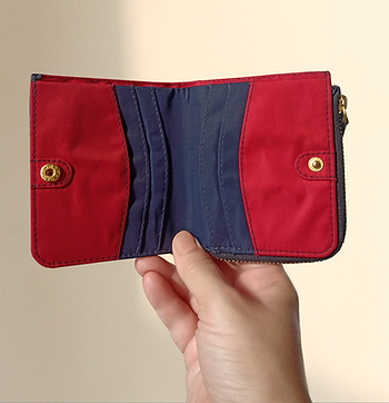 Bohomia Pocket Wallet (Blue & Red)