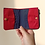 Thumbnail: Bohomia Pocket Wallet (Blue & Red)