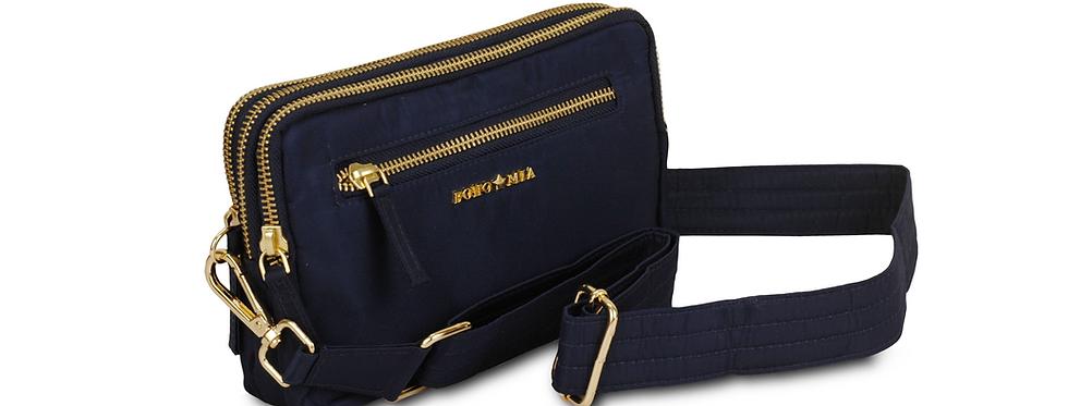 All-Rounder(Navy Blue)- Belt Bag/Clutch/Sling Bag