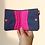 Thumbnail: Bohomia Pocket Wallet (Hot Pink &  Blue)