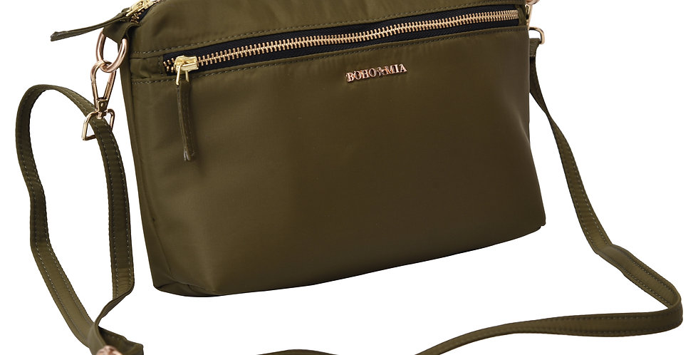 Be-Right-Back(BRB)- Sage : Crossbody/Sling Bag
