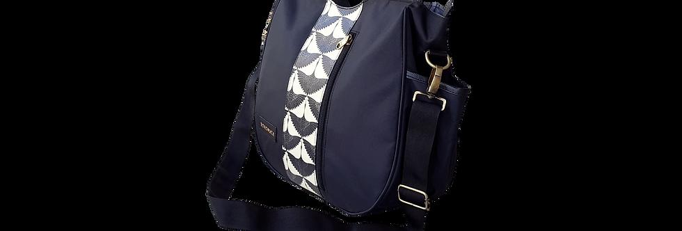 Bohomia Katagami Black Hobo Organiser Handbag