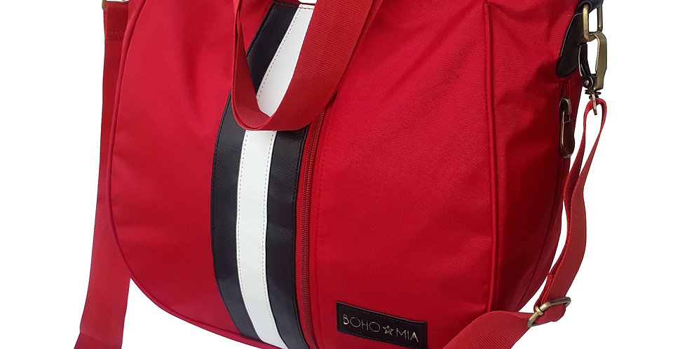 Bohomia Be-A-Sport Hobo Organizer Travel Bag - Red