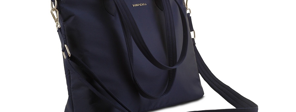 Everyday Work Bag In Navy Blue