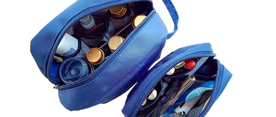 Bohomia Findeasy Blue Toiletry Bag(Set Of 2)