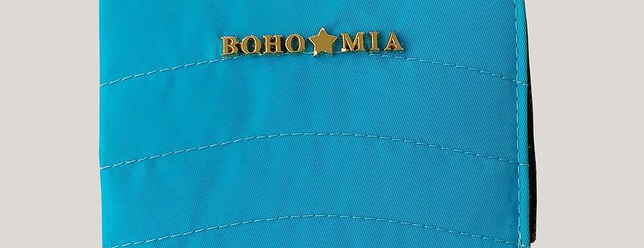 Bohomia Pocket Wallet (Turquoise & Yellow)