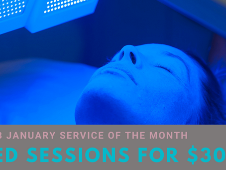Service of the Month - January 2021