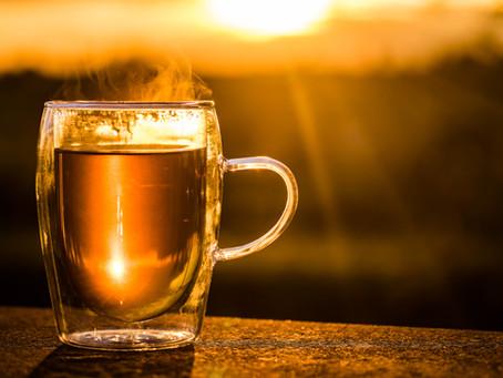 New Year + Hot Tea = #HealthGoals