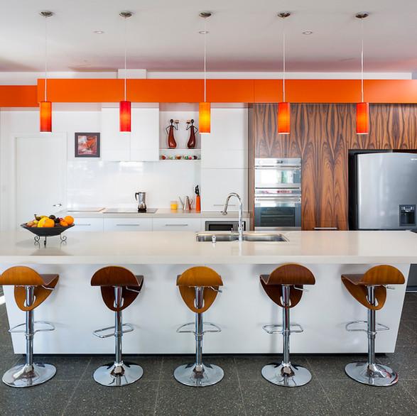 The Tangerine Dreams Kitchen