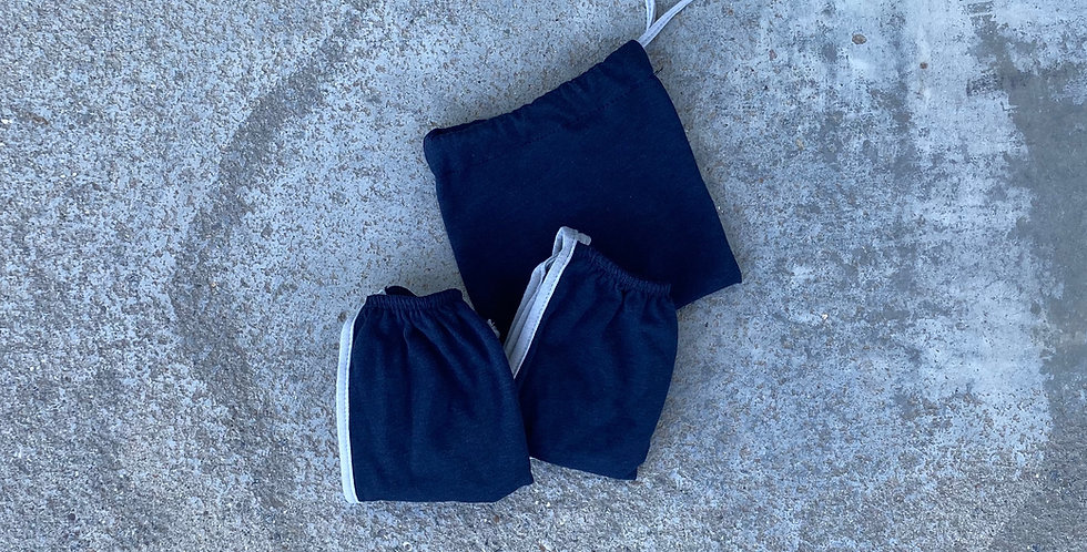 2 PACK - Tricot -Navy
