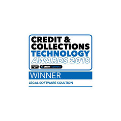 Credit and collections technology awards