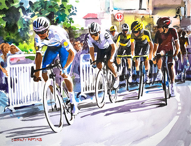 Stage 2 - Julian Alaphilippe Makes The Break