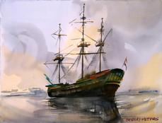 Boat Amsterdam Still