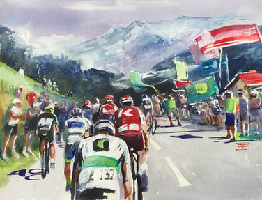 35 The Flags of Le Tour